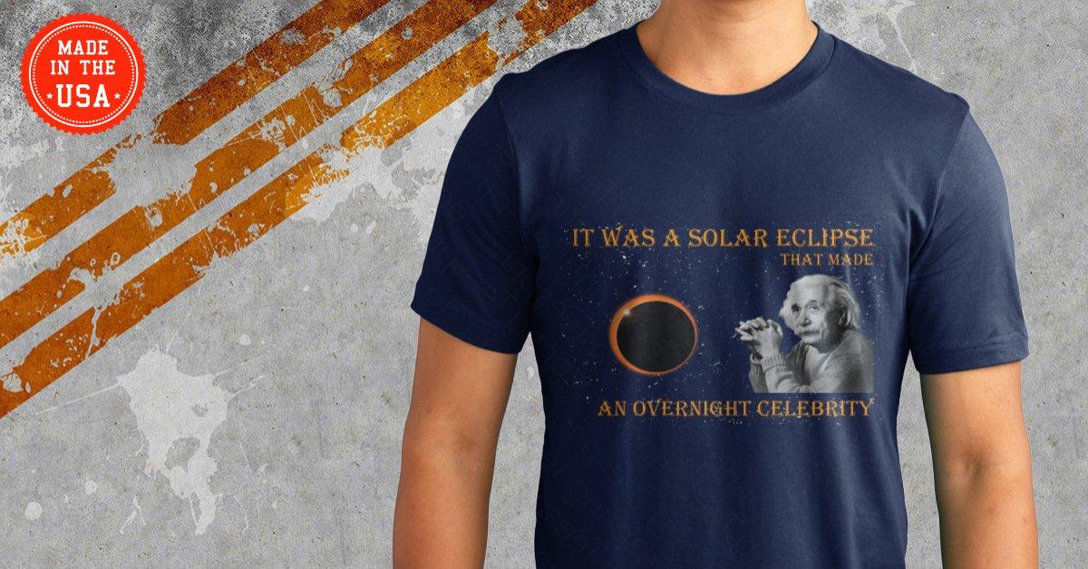 Solar Eclipse Shirt Ad